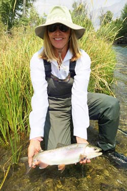 Lost River Rainbow, Sun Valley fly fishing hidden river