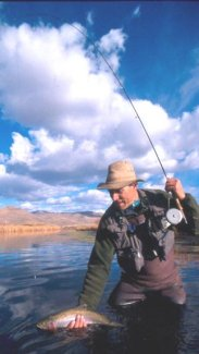 David Glasscock, owner, Ketchum fly fishing expert