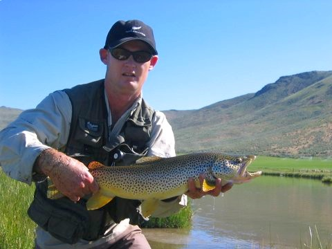 Idaho fly fishing report for Silver creek fishing report